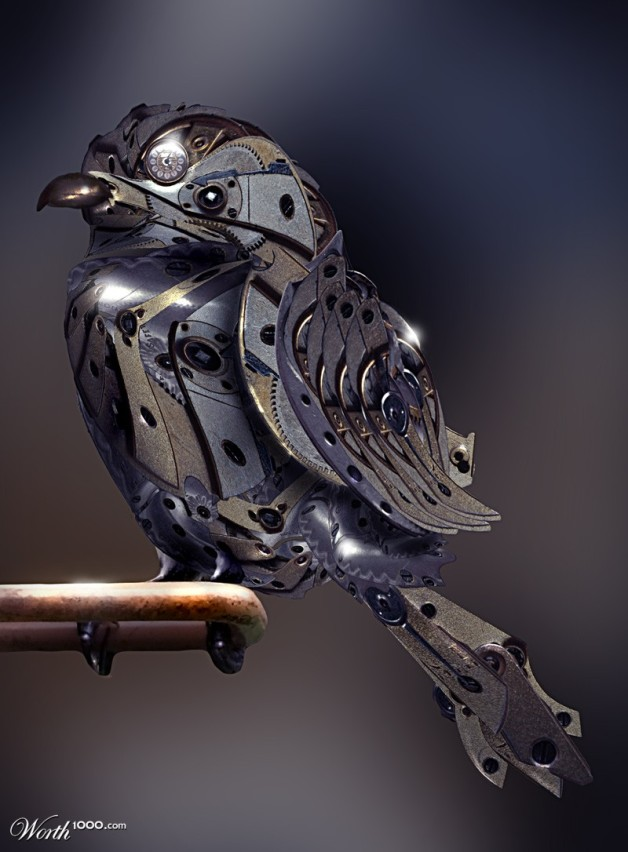Clockwork Sparrow.